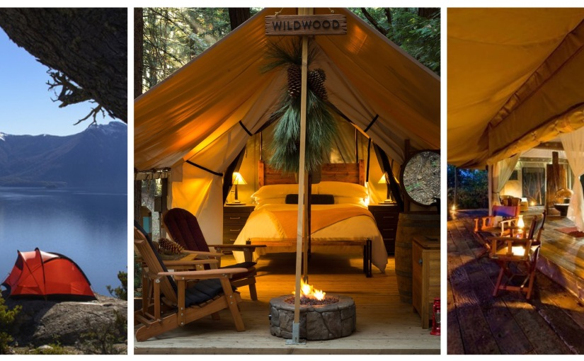 Camping, Glamping and Yurts